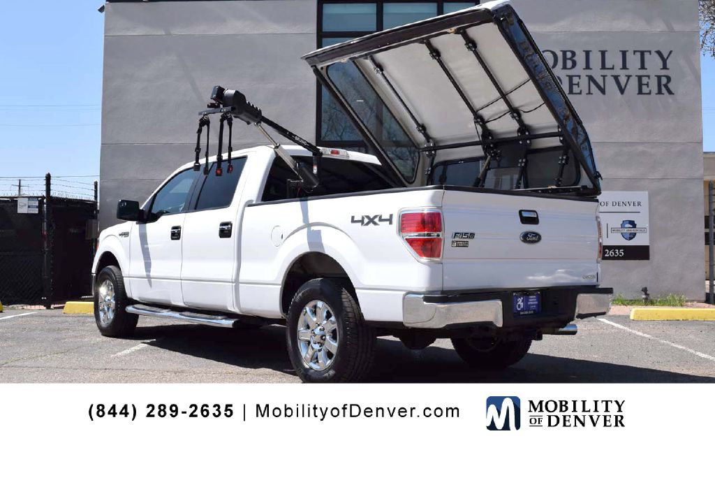 Pre-Owned 2014 Ford F150 XLT Super Crew Bruno Lift