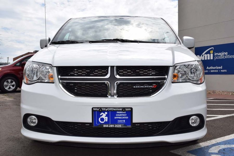 Certified Pre-Owned 2018 Dodge Grand Caravan SXT VMI Verge II E Rear Entry