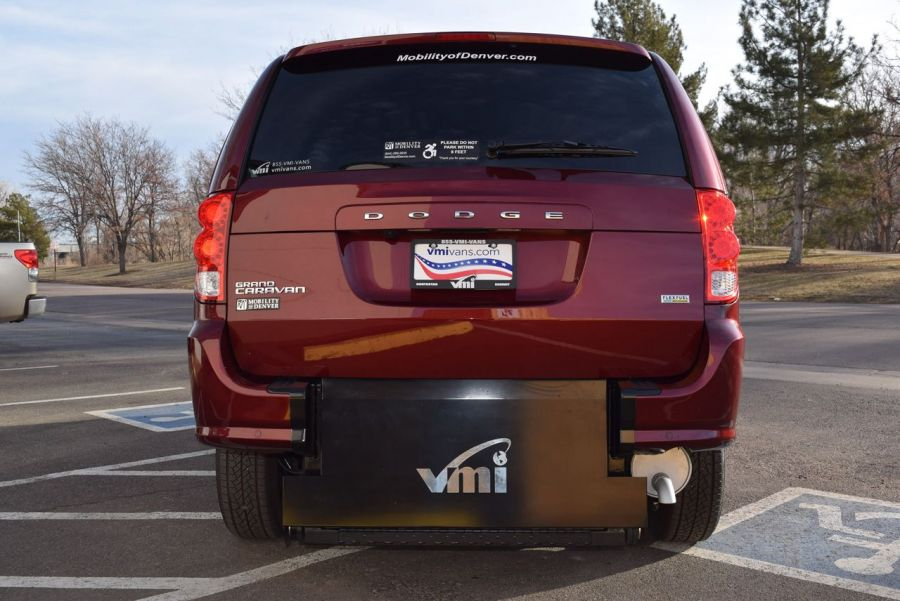 New 2019 Dodge Grand Caravan SXT VMI Verge II E Rear Entry