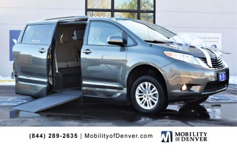 Pre-Owned 2014 Toyota Sienna XLE VMI NorthStar 360 Side Entry